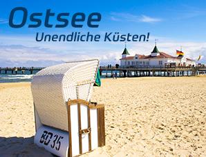 Ferienunterkünfte an der Ostsee